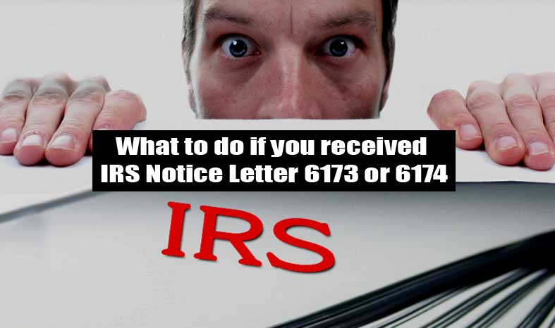 IRS 6173 OR 6174