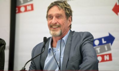 John Mcafee at FireSide chat
