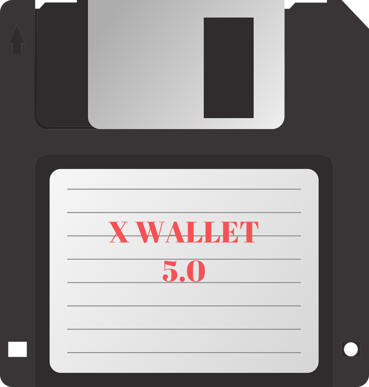 Advanced secure cold storage wallet