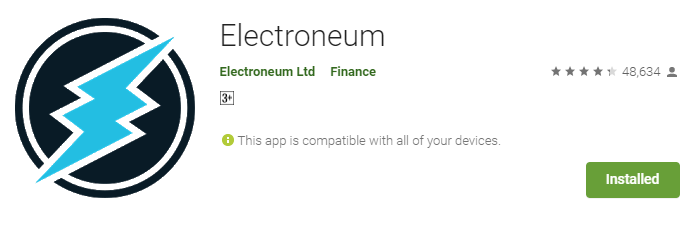 how to mine electroneum on smartphone