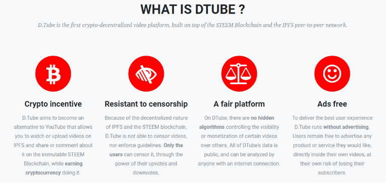What is Dtube