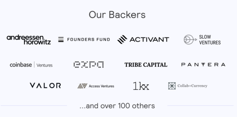 ECO partners and Backers